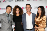 Harry Shum Jr Photo - LOS ANGELES - OCT 23  Harry Shum Jr Sherri Saum Tom Ascheim Shay Mitchell at the 2016 Outfest Legacy Awards at Vibiana on October 23 2016 in Los Angeles CA