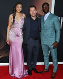 Aldis Hodge Photo - LOS ANGELES - FEB 24  Storm Reid Leigh Whannell Aldis Hodge at the The Invisible Man Premiere at the TCL Chinese Theater IMAX on February 24 2020 in Los Angeles CA