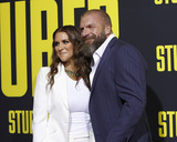 Triple-H Photo - LOS ANGELES - JUL 10  Stephanie McMahon Triple H at the Stuber Premiere at the Regal LA Live on July 10 2019 in Los Angeles CA