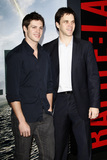 Steven R McQueen Photo - LOS ANGELES - MAR 8  Steven R McQueen and his stepfather Luc Robitaille arriving at the Battle Los Angeles Premiere at Village Theater on March 8 2011 in Westwood CA