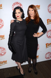 Cassandra Peterson Photo - LOS ANGELES - OCT 17  Dita Von Teese Cassandra Peterson at the Elvira Mistress Of The Dark Coffin Table Book Launch at Roosevelt Hotel on October 17 2016 in Los Angeles CA