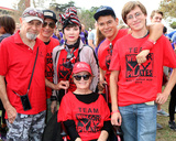 Toni Basil Photo - LOS ANGELES - OCT 16  Mari Winsor (in wheelchair) friends family and Toni Basil in Stripped headscarf at the ALS Association Golden West Chapter Los Angeles County Walk To Defeat ALS at the Exposition Park on October 16 2016 in Los Angeles CA
