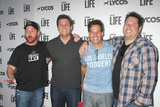 Adrian Pasdar Photo - LOS ANGELES - JUN 8  Scott Grimes Bob Guiney Adrian Pasdar Greg Grunberg at the LA Launch Of LYCOS Life at the Banned From TV Jam Space on June 8 2015 in North Hollywood CA