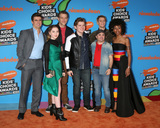 Ella Anderson Photo - LOS ANGELES - MAR 24  Henry Danger Cast Cooper Barnes Ella Anderson Jeffrey Nicholas Brown Michael CohenJace Norman Sean Ryan Fox Riele Downs at the 2018 Kids Choice Awards at Forum on March 24 2018 in Inglewood CA