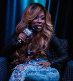 K Michelle Photo - BALA CYNWYD PA - AUGUST 14  American Singer-Songwriter K Michelle Visits Power 99s Performance Theatre on August 14 2013 in Bala Cynwyd Pennsylvania  (Photo by Paul J FroggattFamousPix)