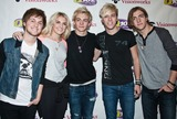 Rydel Lynch Photo - BALA CYNWYD PA - MARCH 26 (L to R) Ellington Ratliff Rydel Lynch Ross Lynch Riker Lynch and Rocky Lynch of American Pop Band R5 Pose at Q102s Performance Theatre on March 26 2014 in Bala Cynwyd Pennsylvania (Photo by Paul J FroggattFamousPix)