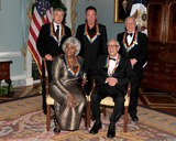 Dave Brubeck Photo - Washington DC - December 5 2009 -- 2009 Kennedy Center honorees pose for the formal group photo following the Artists Dinner at the United States Department of State in Washington DC on Saturday December 5 2009  Front row from left to right Grace Bumbry and Dave Brubeck  Back row from left to right Robert De Niro Bruce Springsteen Mel BrooksPhoto by Ron SachsPool-CNP-PHOTOlinknet