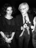 Andy Warhol Photo - Margaret Trudeau Andy Warhol3993JPGCelebrity Archaeology1978 FILE PHOTONew York CityMargaret Trudeau Andy WarholStudio 54Photo by Adam Scull-PHOTOlinknet