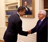 ABBA Photo - Washington DC - May 28 2009 -- United States President Barack Obama welcomes Palestinian Authority President Mahmoud Abbas (Abu Mazen) to the Oval Officeer MANDATORY PHOTO CREDIT Pete SouzaWhite House-CNP-PHOTOlinknet