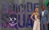 Margot Robbie Photo - Photo by KGC-03starmaxinccomSTAR MAX2016ALL RIGHTS RESERVEDTelephoneFax (212) 995-11968316Margot Robbie and Will Smith at the premiere of Suicide Squad(London England)