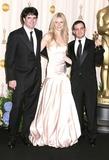 Alejandro Amenabar Photo - Photo by Byron Purvisstarmaxinccom200522705Gwyneth Paltrow with Fernando Bovaram andAlejandro Amenabar at the 77th Annual Academy Awards (Oscars)(Hollywood CA)