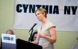 Cynthia Nixon Photo - Photo by Dennis Van TinestarmaxinccomSTAR MAX2018ALL RIGHTS RESERVEDTelephoneFax (212) 995-119642018Democratic candidate for governor Cynthia Nixon will visit the Rockaways for a community forum on Friday to unveil her plan to tackle climate change Nixons plan includes a just transition to a clean energy economy by moving to 100 renewable energy stopping all new fossil fuel infrastructure projects and making corporate polluters pay for the damage they are causing communities and our planet Cynthia will be joined by local organizers and community members directly impacted by the disastrous effects of climate change