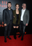 Jennifer Lawrence Photo - Photo by Dennis Van TinestarmaxinccomSTAR MAX2018ALL RIGHTS RESERVEDTelephoneFax (212) 995-119621518Joel Edgerton Jennifer Lawrence and Francis Lawrence at a screening of Red Sparrow in Washington DC