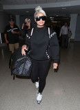 Blac Chyna Photo - Photo by SMXRFstarmaxinccomSTAR MAX2017ALL RIGHTS RESERVEDTelephoneFax (212) 995-119610917Blac Chyna at LAX Airport in Los Angeles CA