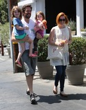 Alyson Hannigan Photo - Photo by EPARFstarmaxinccomSTAR MAX2014ALL RIGHTS RESERVEDTelephoneFax (212) 995-119671014Alyson Hannigan with her husband Alexis Denisof and their two daughters Satyana Marie Denisof and Keeva Jane Denisof are seen in Los Angeles CA