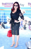 Alicia Machado Photo - Photo by zzgotpapstarmaxinccomSTAR MAXCopyright 2018ALL RIGHTS RESERVEDTelephoneFax (212) 995-119663018Alicia Machado at the premiere of Hotel Transylvania 3 Summer Vacation held at the Westwood Village Theatre in Los Angeles CA