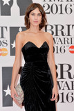Alexa Chung Photo - Photo by KGC-42starmaxinccomSTAR MAX2016ALL RIGHTS RESERVEDTelephoneFax (212) 995-119622416Alexa Chung at the 2016 Brit Awards at the O2 Arena London England