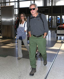 Calista Flockhart Photo - Photo by SMXRFstarmaxinccomSTAR MAX2017ALL RIGHTS RESERVEDTelephoneFax (212) 995-119662817Harrison Ford and Calista Flockhart are seen at LAX Airport in Los Angeles CA