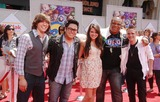Aaron Kelly Photo - Photo by Michael Germanastarmaxinccom201061310Tim Urban Andrew Garcia Katie Stevens Michael Lynche and Aaron Kelly at the premiere of Toy Story 3(Hollywood CA)