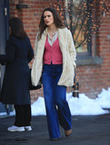 Keira Knightley Photo - Photo by XPXstarmaxinccomSTAR MAXCopyright 2016ALL RIGHTS RESERVEDTelephoneFax (212) 995-11963716Keira Knightley on the set of Collateral Beauty in Brooklyn New York(NYC)