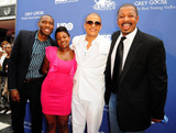 Lil J Photo - Messiah J Jacobs Amber Bickham Jonathan Lil J McDaniel and Robert Townsend attends world premiere of In The Hive during the 15th Annual American Black Film Festival at the Colony Theater Miami Beach FL 7611