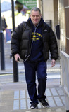 Chris Moyles Photo - DJ Chris Moyles arrives for work at BBC Radio 1 in London UK 3711