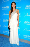 Allie Rizzo Photo - Allie Rizzo poses on the blue carpet at the 7th annual UNICEF Snowflake Ball held at Cipriani 42nd Street New York NY 113010