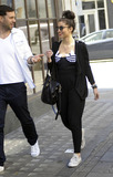 NERD Photo - Wearing a black top with large Adidas logos strategically covering her chest DJ singer and songwriter Yasmin (aka Yasmin Shahmir) is all smiles as she chats with a friend while leaving BBC Radio 1 Yasmin has left a trailblazing mark on the hip-hop scene with her DJ skills and has toured with NERD The Cool Kids William Taio Cruz and Example She has also been featured on Devlins recent single Runaway and DJed at Ibiza Rocks with Dizzee Rascal London UK 4811