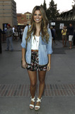 Amber Lancaster Photo - Amber Lancaster arrives for the Coldplay concert at UCLA Los Angeles CA 8311
