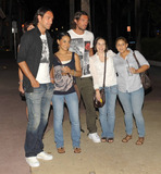 Alessandro Nesta Photo - EXCLUSIVE Italian footballers Alessandro Nesta (L) and Paolo Maldini (R) happily pose with fans while out for the evening on Lincoln Road with their wives Adriana Maldini and Gabriela Pagnozzi Miami Beach FL  070910 Fees must be agreed prior to publication
