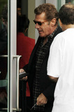 Glenn Frey Photo - On a rainy afternoon singer Glenn Frey arrives at Staples Center to watch the Boston Celtics vs Los Angeles Lakers basketball game Los Angeles CA 013011
