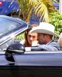 Jennifer Lopez Photo - Jennifer Lopez and Jason Statham seen on set filming the upcoming film Parker in South Florida Parker is based on the book Flashfire from the popular Richard Starks Parker series film is set to release in October of 2012  Lopez was not wearing a ring on her wedding finger amid reports this weekend that she had reconciled with her husband Marc Anthony  Florida 19th September 2011