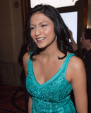 Kiowa Gordon Photo - Twilight star Tinsel Korey has a laugh as she poses for photographers at Chateau Nightclub inside the Paris Hotel to celebrate her and Twilight co-star Kiowa Gordons birthdays Las Vegas NV 032611
