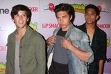 Allstar Weekend Photo - Allstar Weekend (Zach Porter Cameron Quiseng and Michael Martinez) Arriving at J-14s 6th Annual Intune Concert at Hard Rock Cafe-times Square in New York City on 08-24-2011 Photo by Henry Mcgee-Globe Photos Inc 2011