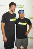 Apolo Anton Ohno Photo - Michael Phelps and Apolo Anton Ohno During a Training Session at the Sports Center at Chelsea Piers in New York City on 09-27-2011 to Prepare Ohno For the Ing NYC Marathon in November Photo by Henry Mcgee-Globe Photos Inc 2011