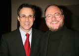 John Holmes Photo - JOHN BUCCHINO AND RUPERT HOLMES AT THE FRED EBB FOUNDATION AND ROUNDABOUT THEATRE COMPANY COCKTAIL RECEPTION AND PRESENTATION OF THE 1ST ANNUAL FRED EBB AWARD FOR MUSICAL THEATRE SONGWRITING AT THE AMERICAN AIRLINES THEATRE PENTHOUSE LOUNGE IN NEW YORK CITY ON 11-29-2005  PHOTO BY HENRY McGEEGLOBE PHOTOS INC 2005K46088HMc