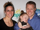 Noelle Pikus-Pace Photo - Skeleton Champion Noelle Pikus-pace with Husband Janson Pace and Daughter Lacee Pace Arriving at Launch of Pampers Swaddlers and Cruisers with Dry Max at Helen Mills in New York City on 03-18-2010 Photo by Henry Mcgee-Globe Photos Inc 2010