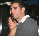 Annabella Sciorra Photo - Sciorra and Cannavale9146JPGNew York NY 08-30-07Annabella Sciorra and Bobby Cannavale (with a cast on his wrist)premiere of Romance  Cigarettes at Clearview Chelsea West CinemaDigital photo by Adam Nemser-PHOTOlinknet