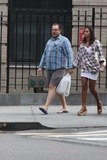 Rula Jebreal Photo - NYC  091910EXCLUSIVE Julian Schnabel and girlfreind Rula Jebreal (who tripped down the curb) walking in the West Village Julians new movie Miral that he directed was written by RulaEXCLUSIVE photo by Adam Nemser-PHOTOlinknet