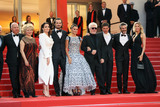 Pedro Almodovar Photo - CANNES FRANCE - MAY 17 Nora Navas Asier Etxeandia Penelope Cruz wearing Atelier Swarovski Fine Jewelry Director Pedro Almodovar Antonio Banderas and Nicole Kimpel attend the screening of Pain And Glory (Dolor Y Gloria Douleur Et Gloire) during the 72nd annual Cannes Film Festival on May 17 2019 in Cannes France (Photo by Laurent KoffelImageCollectcom)