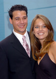Amber Brkich Photo - SurvivorAll Stars AMBER BRKICH and ROB MARIANO at the CBS Upfront Presentation in New York May 19 2004