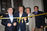 Tony Orlando Photo - Freddy Roman Tony Orlando Stewie Stone and Andrew Raia pose as Tony Orlando is honored with the worlds largest yellow ribbon outside the Friars Club on September 2 2008 in New York City
