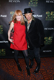 Patti Scialfa Photo - April 17 2014 New York CityPatti Scialfa and Narada Michael Walden arriving at the 25th Anniversary Rainforest Fund Benefit at Mandarin Oriental Hotel on April 17 2014 in New York City