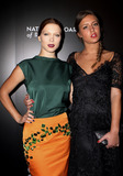 Adle Exarchopoulos Photo - January 7 2014 New York CityLa Seydoux and Adle Exarchopoulos arriving at the 2014 National Board Of Review Awards Gala at Cipriani 42nd Street on January 7 2014 in New York City