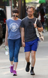 Adam Shulman Photo - May 19 2015 New York CityActress Anne Hathaway and her husband Adam Shulman wear sports kit as they walk in the East Village on May 19 2015 in New York CityBy Line Zelig ShaulACE PicturesACE Pictures Inctel 646 769 0430