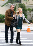 Natalie Hall Photo - October 26 2016 New York CityActors Ray Liotta and  Natalie Hall on the set of the TV show Shades of Blue on October 26 2016 in New York CityBy Line Zelig ShaulACE PicturesACE Pictures IncTel 6467670430