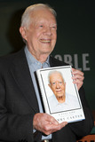 Jimmy Carter Photo - July 7 2015 New York CityFormer President of the USA Jimmy Carter signs copies of his new book at Barnes  Noble Fifth Avenue on July 7 2015 in New York CityCredit Kristin CallahanACE PicturesTel 646 769 0430
