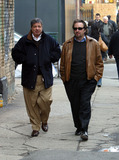 Allen Grubman Photo - Director Ron Silver and celebrity lawyer Allen Grubman (father of Lizzie Grubman) taking a stroll to their car after having a lunch at Cipriani in SoHo New York March 8 2003