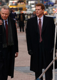Noah Emmerich Photo - Jon Voight and Noah Emmerich seen filming on the set of Pride and Glory
