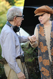 Cindy Adams Photo - October 21 2015 New York CityWoody Allen and Cindy Adams seen on location of the untitled Woody Allen Summer Project filming in Central Park on October 21 2015 in New York CityCredit Kristin CallahanACETel (646) 769 0430